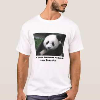Panda doesn't know Kung Fu T-Shirt