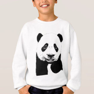 Panda drawing sweatshirt
