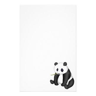 Panda Eating Bamboo Customised Stationery