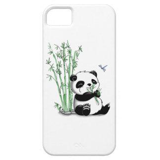Panda Eating Bamboo iPhone 5 Cover