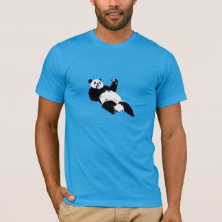 Panda Eating Cheeseburger! T-Shirt