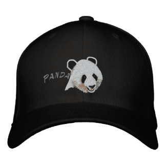 Panda Embroidered Hat