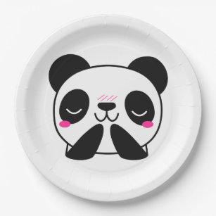 Panda Emoji Paper Plates  sc 1 st  Zazzle & Panda Plates | Zazzle.co.uk