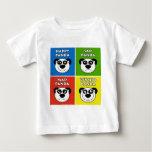 Panda Emotions Baby T-Shirt