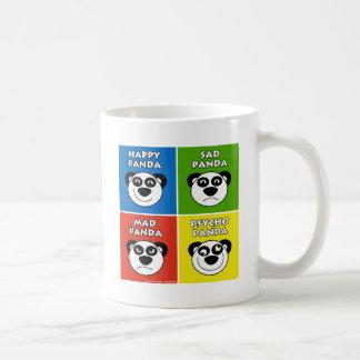 Panda Emotions Basic White Mug