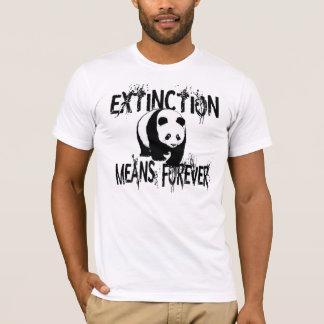 Panda Extinction1 T-Shirt