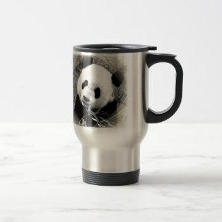 Panda Eyes Stainless Steel Travel Mug