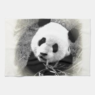 Panda Eyes Tea Towel