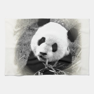Panda Eyes Towels