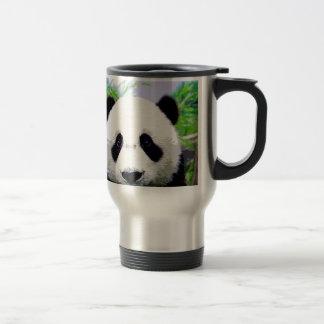 Panda Eyes Travel Mug