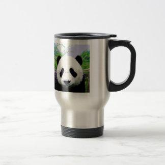 Panda Eyes Travel Mugs