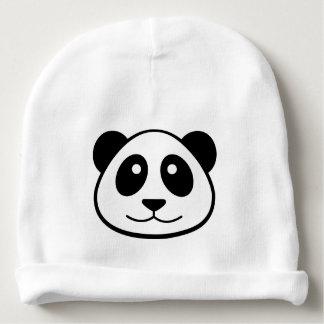 Panda Face Baby Beanie