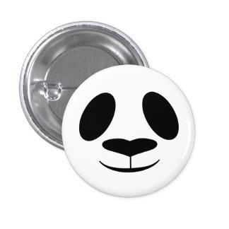 Panda Face 3 Cm Round Badge