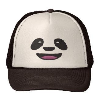 Panda face cap