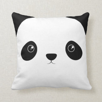 Panda Face Cushion