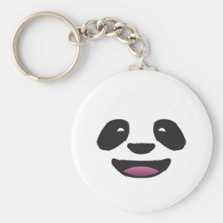 Panda Face - Cute animal wildlife Keychains