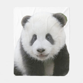 Panda Face Fleece Blanket