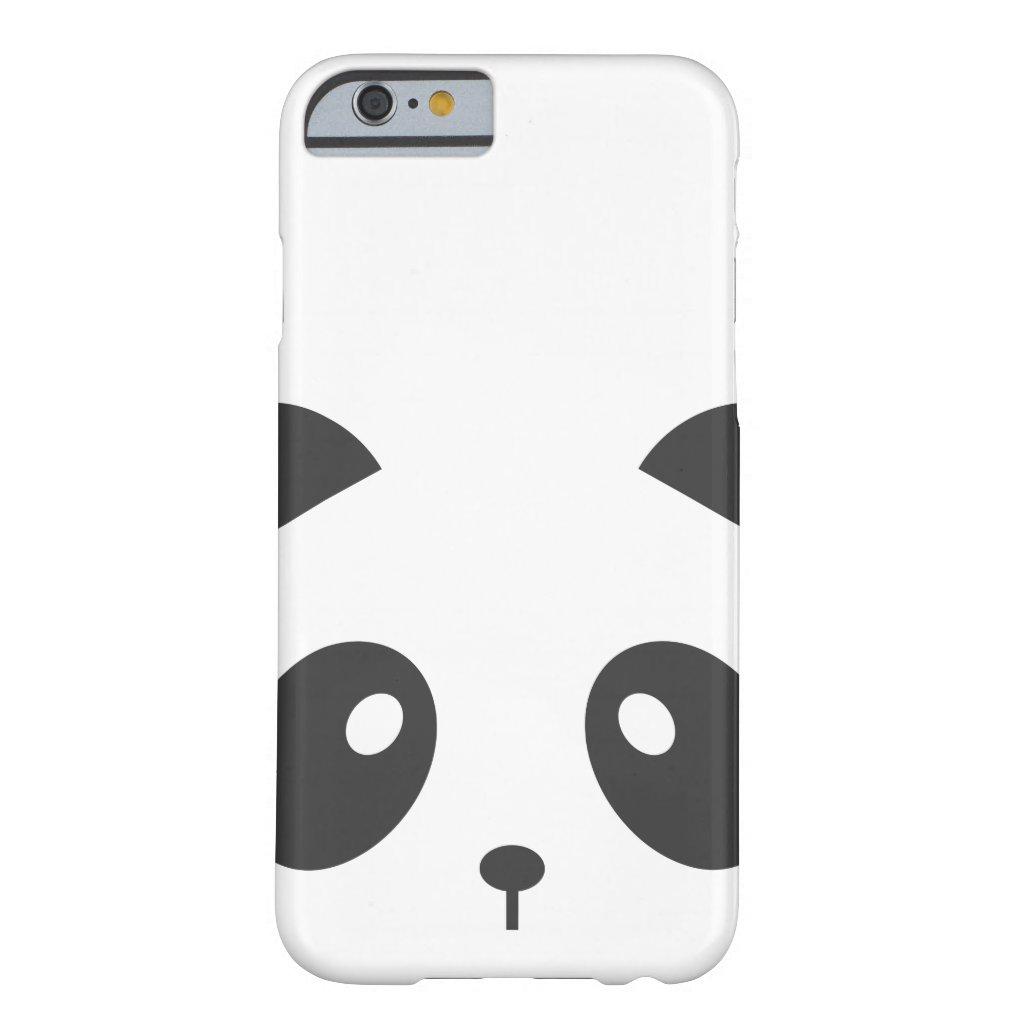 Panda Face iPhone Case