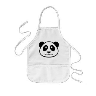 Panda Face Kids Kids Apron