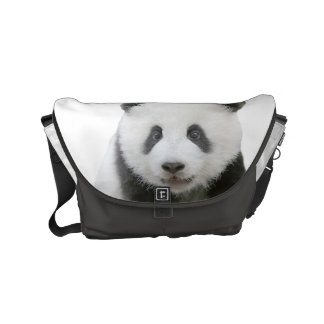 Panda Face Messenger Bag