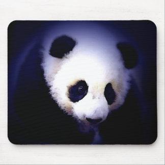 Panda Face Mouse Pads