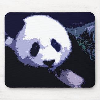 Panda Face Pop Art Mousepad