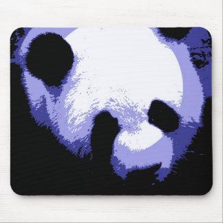 Panda Face Pop Art Mouse Pads