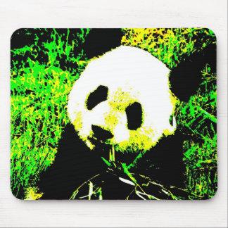 Panda Face Pop Art Mousepads