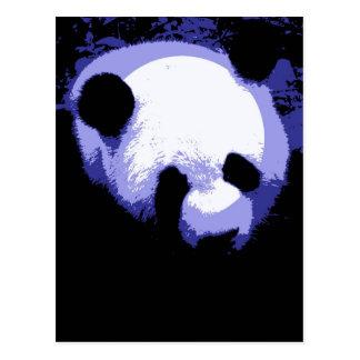 Panda Face Pop Art Post Cards