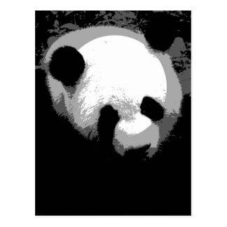Panda Face Postcard