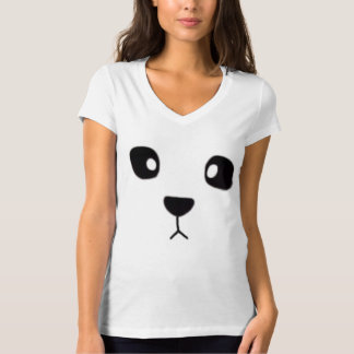 Panda face tee for ladies