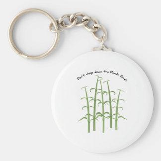 Panda Food Key Chains