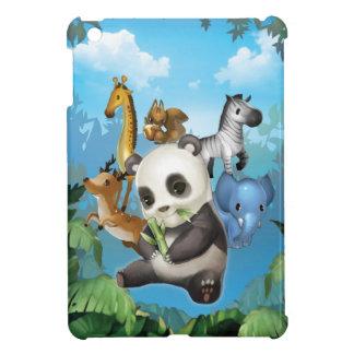 panda friend iPad mini covers