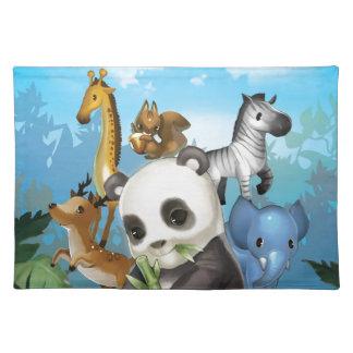 panda & friend placemat