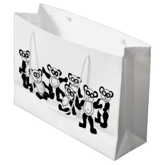 panda friends gift bag