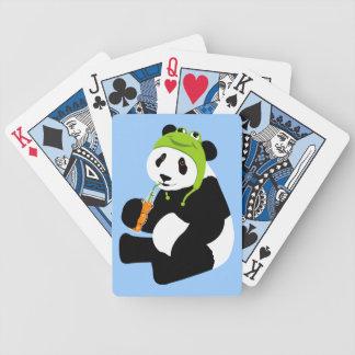 Panda Frog Hat Bicycle Playing Cards