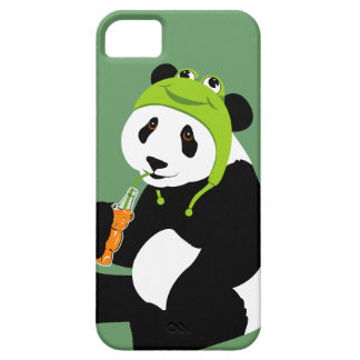 Panda Frog Hat iphone 5 Case For The iPhone 5