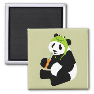 Panda Frog Hat Magnet