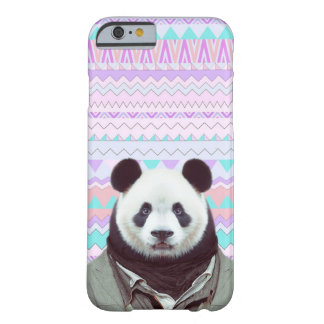 Panda Funny with Pastel Tribal iPhone 6/6s Case