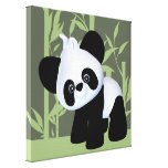 Panda Gallery Wrapped Canvas