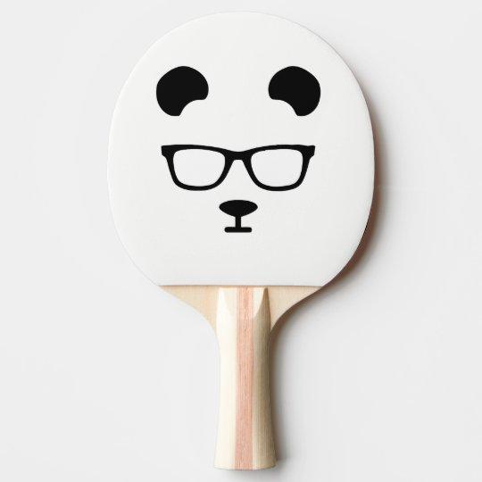 Panda geek ping pong paddle