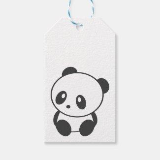 Panda Gift Tags
