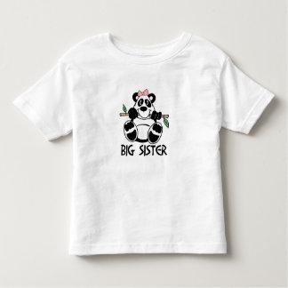 Panda Girl Big Sister Toddler T-Shirt