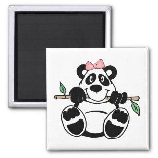 Panda Girl Magnet