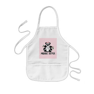 Panda Girl Middle Sister Aprons