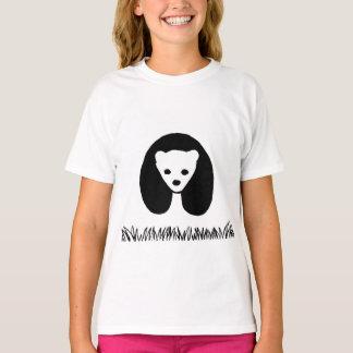 Panda Girls' Hanes TAGLESS® T-Shirt
