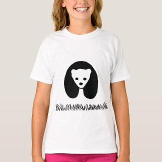 Panda girls' t-shirt