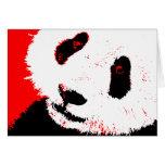 panda. greeting card