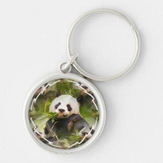 Panda Habitat  Keychain