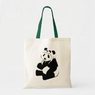 Panda Hat Tote Bag